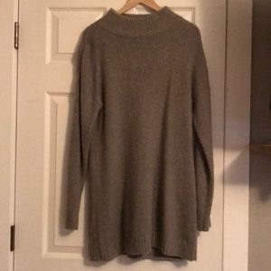 ASOS Grey Sweater Dress